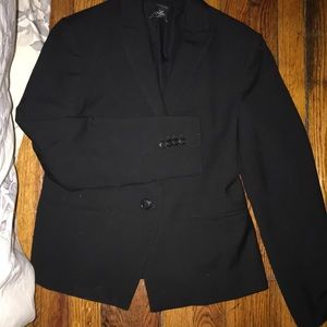 Black Anne Taylor blazer